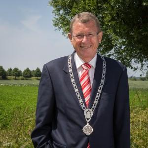 Photoshoot Burgemeester Nuis van de gemeente Tholen.